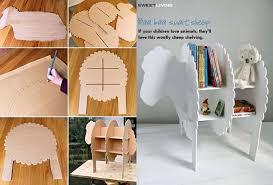 Bookshelves Diy by Wonderful Diy Smart Sheep Bookshelf For Kids