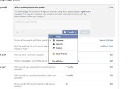 how do i make my facebook profile private