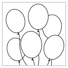 palloncini clipart palloncino da colorare pagina pupazzo di neve clipart clipart in