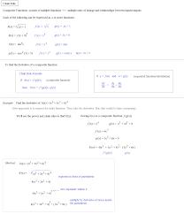 math plane exploring the chain rule