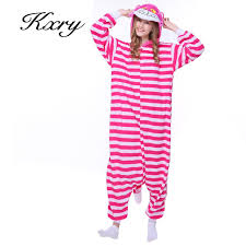 wholesale cheshire cat flannel autumn and winter pajamas 2017
