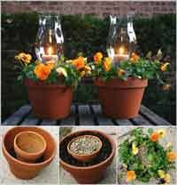 Craft Ideas For The Garden Home Gardening Craft Ideas At Allcrafts Net Free Crafts Network