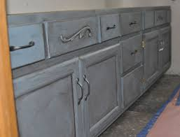 how to repaint bathroom cabinets chalk painting a bathroom vanity at home with jen