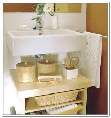 Bathroom Sinks With Storage Sink Bathroom Storage Cabinet Gilriviere