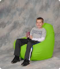 incredible green bean bag chair with beansack lime vinyl green