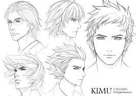 male face practice by kimuliao on deviantart