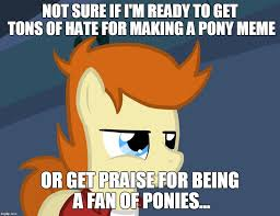 Meme Maker Fry - futurama fry pony imgflip