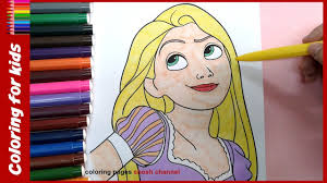 coloring pages disney for girls tangled rapunzel coloring pages