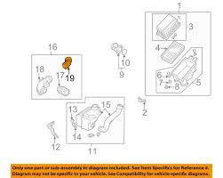 nissan sentra air intake hose nissan oem air cleaner intake air duct tube hose 165780w001 ebay