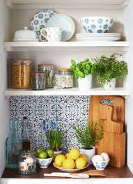 how to artfully arrange an open kitchen shelf sainsbury u0027s home