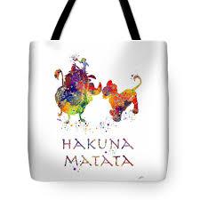 hakuna matata watercolor art print beach towel for sale by svetla