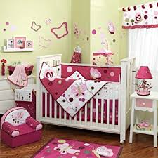 Crib Bedding Sets Raspberry Swirl 6 Baby Crib Bedding Set With
