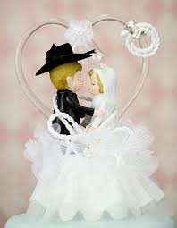 cowboy wedding cake toppers cowboy lasso wedding cake topper