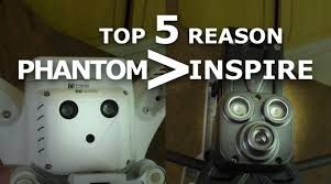 Inspire by Top 5 Reasons Dji Phantom Better Than Dji Inspire Phantom Vs