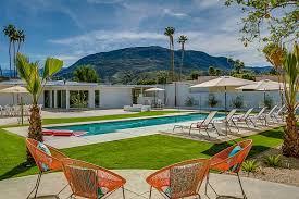 Mid Century Style Home Palm Springs Midcentury Modern Vacation Home Rentals