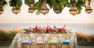 bright settings table linen rental event rentals