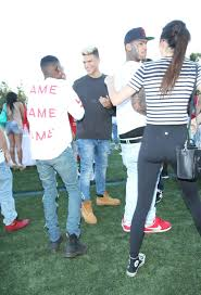 Flag Football Adults Kendall Jenner At Celebrity Flag Football In Eagle Rock