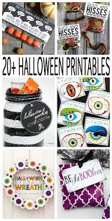 72 best halloween printables images on pinterest holidays