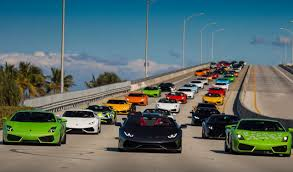 lamborghini dealership bullfest miami 2016 lamborghini gathering and drive