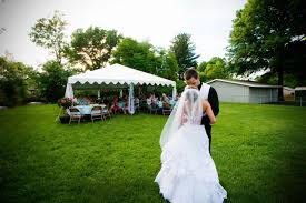 Wedding In The Backyard Backyard Wedding Reception Outdoor Furniture Design And Ideas