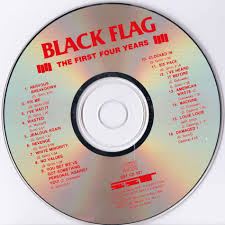 Black Flag Nervous Black Flag The First Four Years Sst Sst Cd 021
