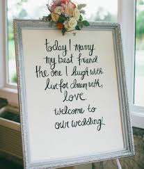 meaningful to funny 10 beautiful quotes for your wedding signs