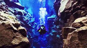 Clearest Water In The Us Bbc Travel Swim Between Two Tectonic Plates