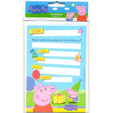 peppa pig birthday invitations template free free invitations ideas
