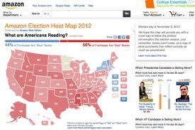 Election Map 2012 by Amazon U0027s Election Heat Map Polling By The Book Bloomberg