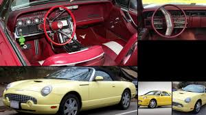 ford thunderbird all years and modifications with reviews msrp