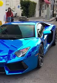 rainbow chrome lamborghini chrome blue lamborghini aventador luxury cars pinterest