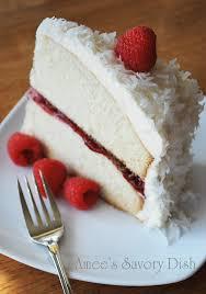 raspberry vanilla bean cake with white chocolate buttercream
