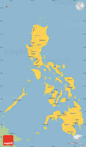 Simple World Map by Savanna Style Simple Map Of Philippines