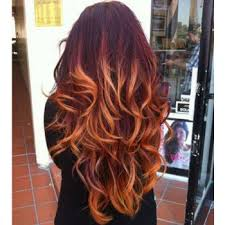 blonde and burgundy hairstyles burgundy blonde ombre hair just medium hair styles ideas 6433
