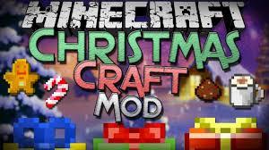 minecraft mod showcase christmascraft mod gifts decorations