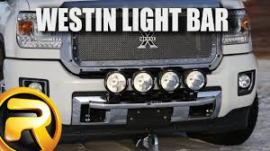 off road light bars westin off road light bar fast facts youtube