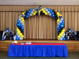 Balloon Decoration At Home Balloon Decoration Ideas For 1st Birthday Party At Home Worlddaily