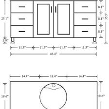 How Tall Is A Standard Bathroom Vanity Bathroom Vanity Dimensions Comfort Height Bathroom Vanity With