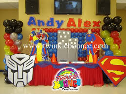 transformers birthday decorations balloon wall and idea for the balloon arch party ideas