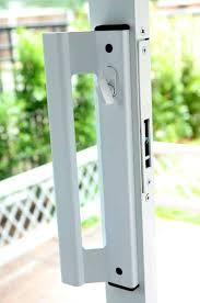 Sliding Patio Door Repair Replacement Sliding Glass Door Locks Full Image For French Doors