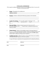 Applying For A Scholarship Essay Sample 40 Professional Sublease Agreement Templates U0026 Forms Template Lab