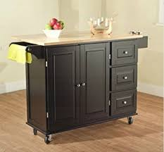 Kitchen Table With Wheels by Amazon Com Tms Kitchen Cart And Island This Portable Small