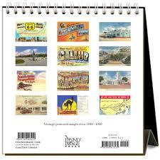 2018 easel desk calendar route 66 nostalgic 2018 easel calendar 9781680813135 calendars com