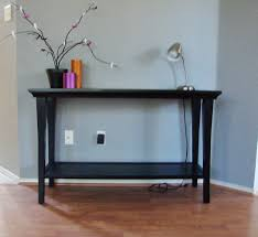 Black Foyer Table Idea Black Wall Table Plus Foyer Decor Stabbedinback Mounted