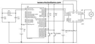 wiring diagram dc motor speed circuit design using