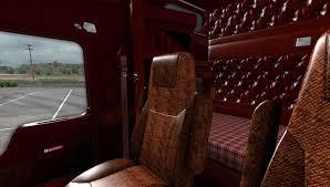 w900l kenworth trucks kenworth w900 interior mod ats mod american truck simulator mod
