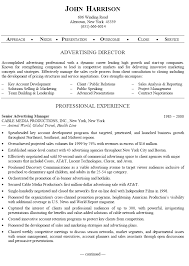 Best Executive Resume Examples Sample Advertising Resume Best Executive Services Account