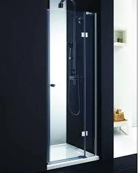 shower doors frameless hinged pivot door in decorating