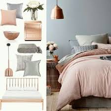 Color Scheme For Bedroom Grey U0026 Pink Interiors Interiors Gray And Bedroom Themes