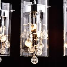 crystal pendant lighting for kitchen claxy ecopower lighting glass crystal pendant lighting modern